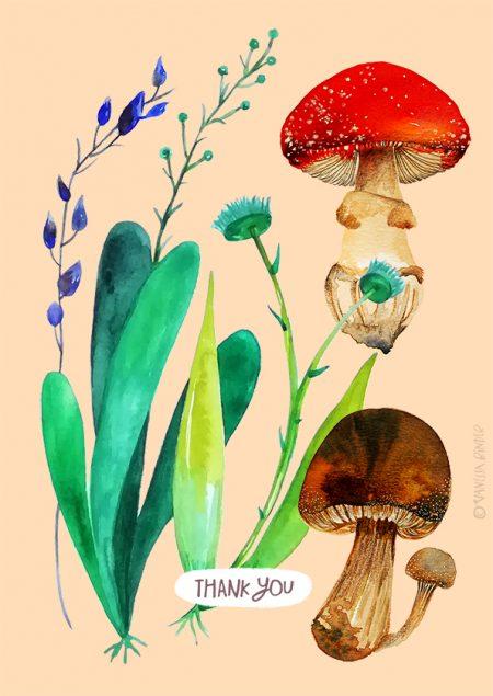 Botanical_PostCardDesignByVanessaBinder