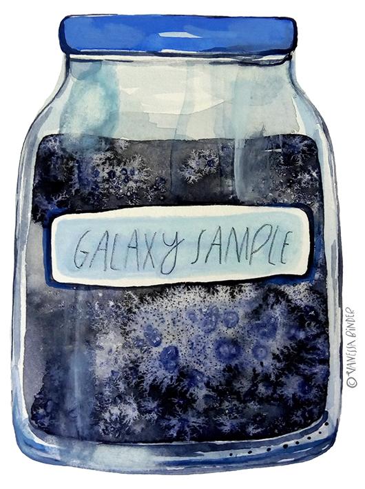 GalaxySampleJar_ByVanessaBinder