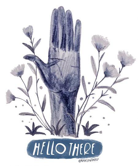 Hello There_Illustration By Vanessa Binder