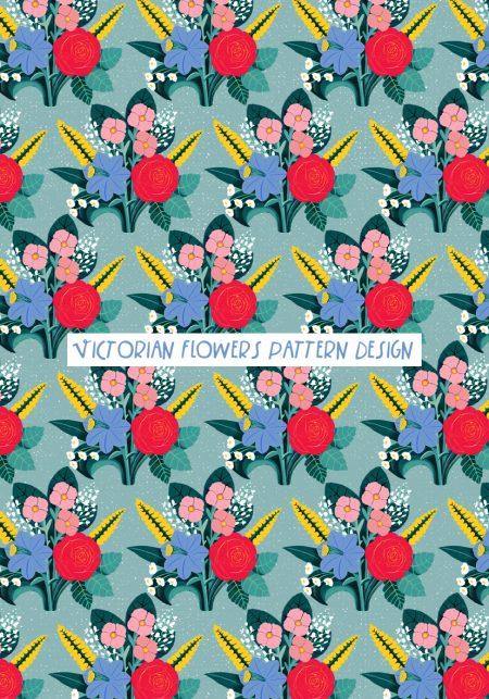 Victorian-Flowers-Pattern-vanessa-binder