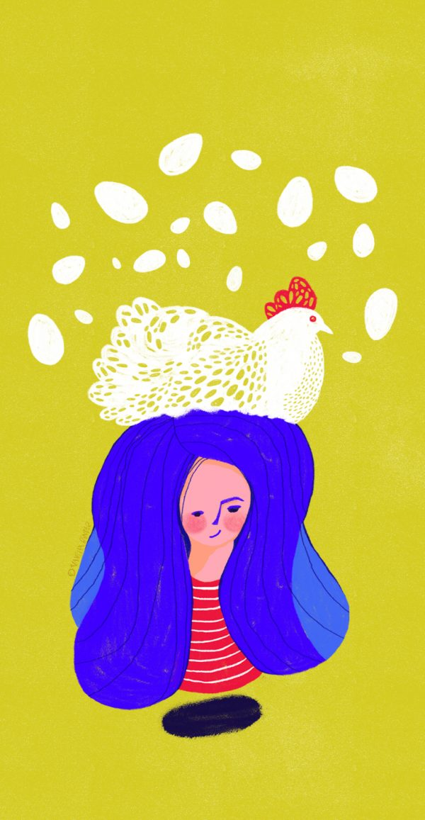 Illustration by Vanessa Binder