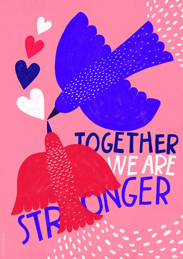 Together We Are Stronger by Vanessa Binder